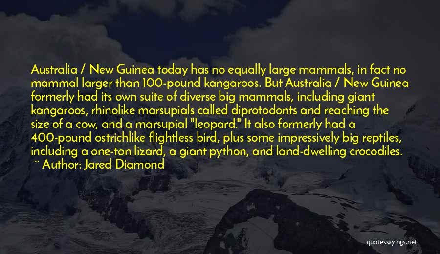 Guinea Quotes By Jared Diamond