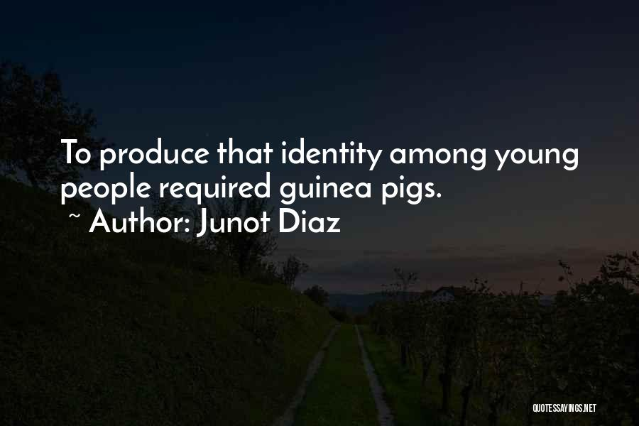 Guinea Quotes By Junot Diaz