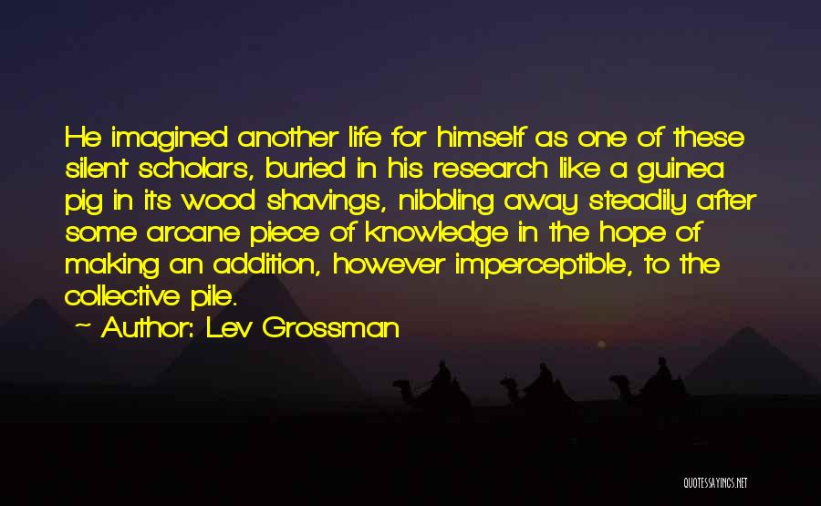 Guinea Quotes By Lev Grossman