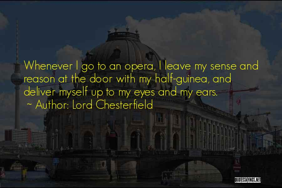 Guinea Quotes By Lord Chesterfield