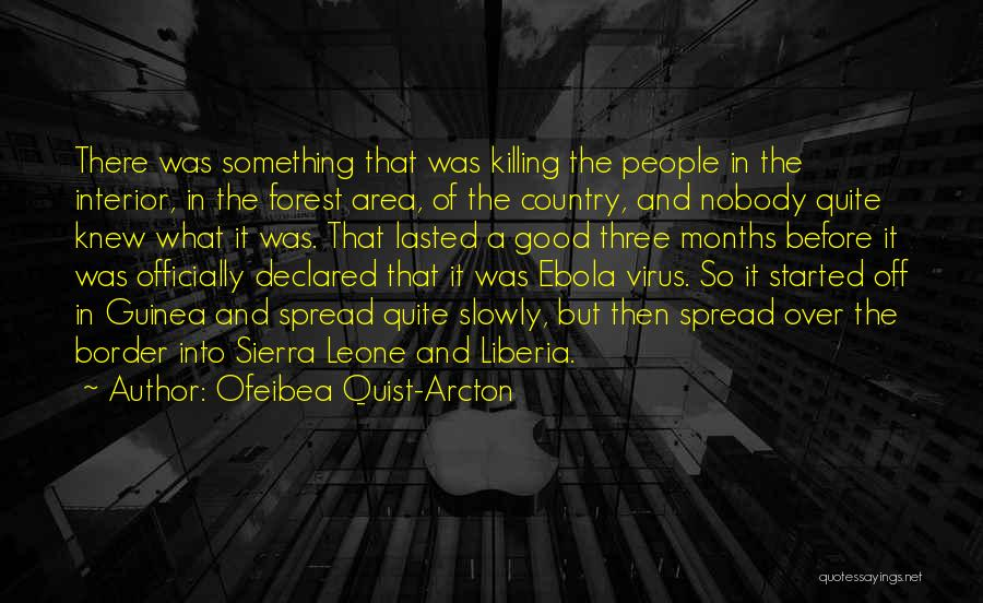 Guinea Quotes By Ofeibea Quist-Arcton