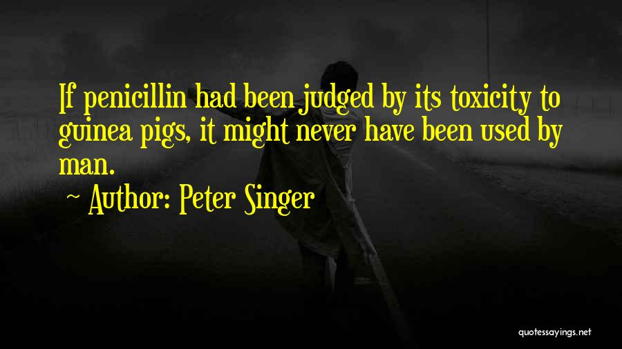 Guinea Quotes By Peter Singer
