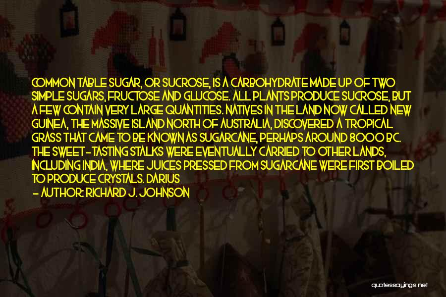 Guinea Quotes By Richard J. Johnson