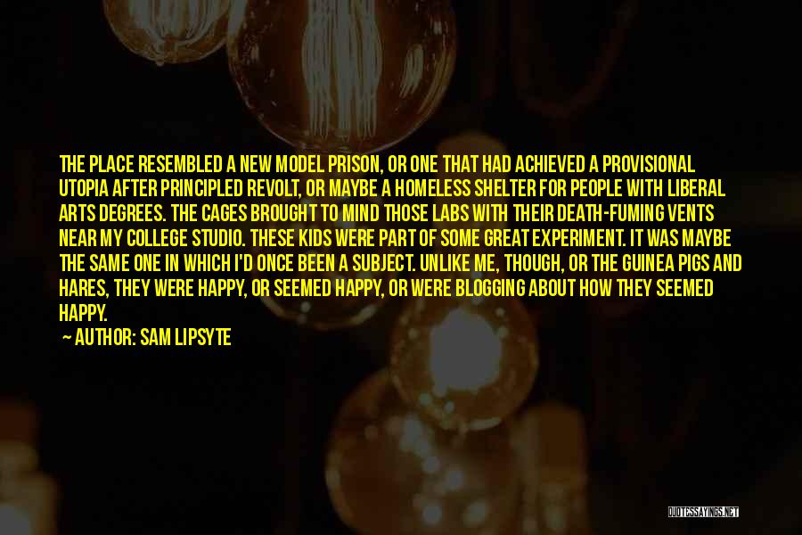 Guinea Quotes By Sam Lipsyte