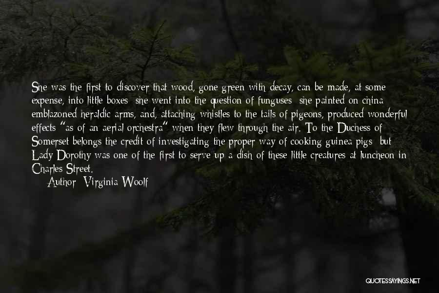 Guinea Quotes By Virginia Woolf