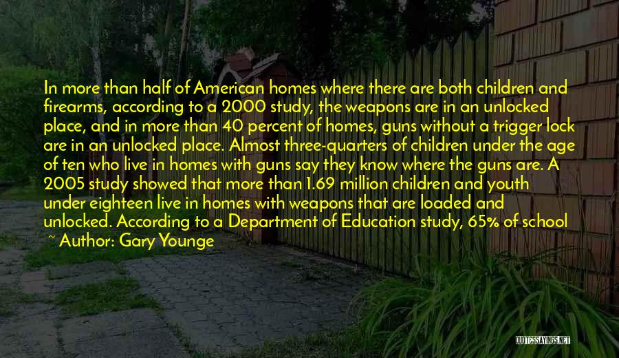 Gun Laws In America Quotes By Gary Younge