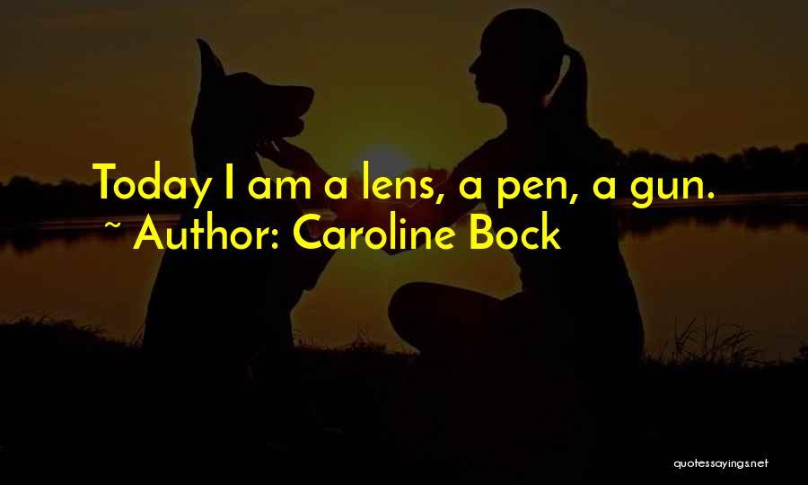 Gun Violence Quotes By Caroline Bock