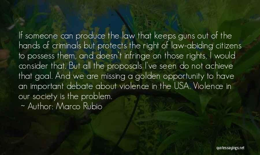 Gun Violence Quotes By Marco Rubio
