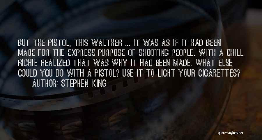 Gun Violence Quotes By Stephen King