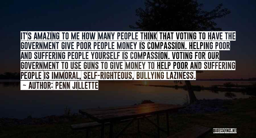 Guns And Government Quotes By Penn Jillette