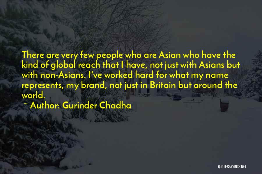 Gurinder Chadha Quotes 726227