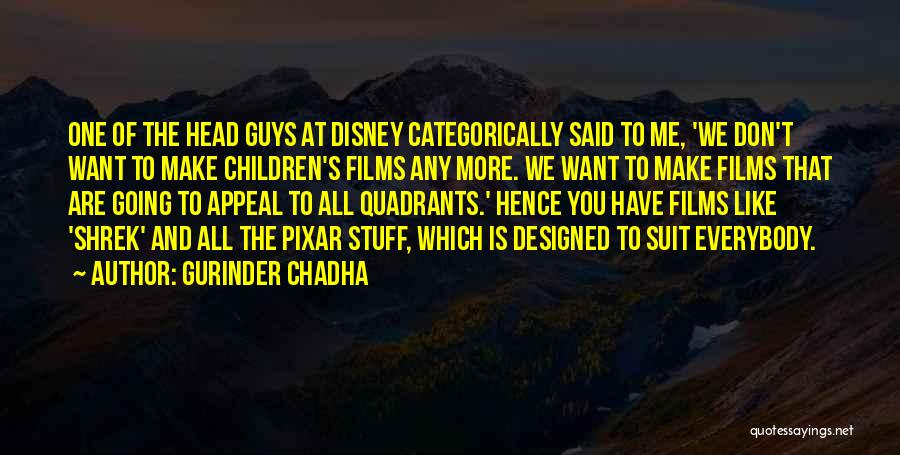 Gurinder Chadha Quotes 949527