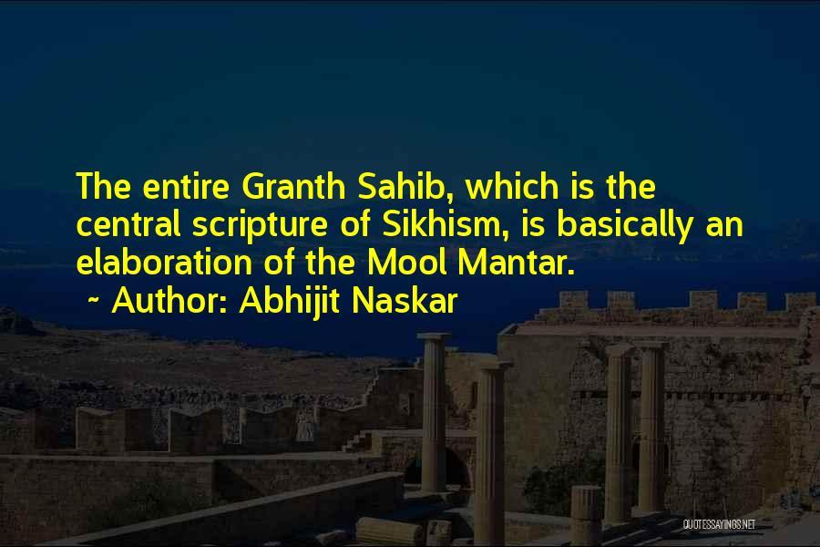 Guru Sikh Quotes By Abhijit Naskar