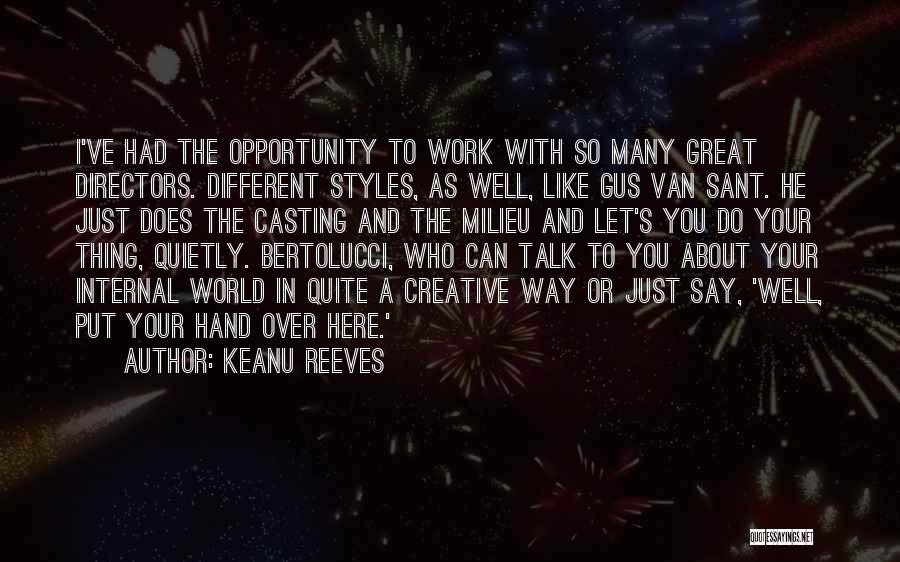 Gus Gus Quotes By Keanu Reeves