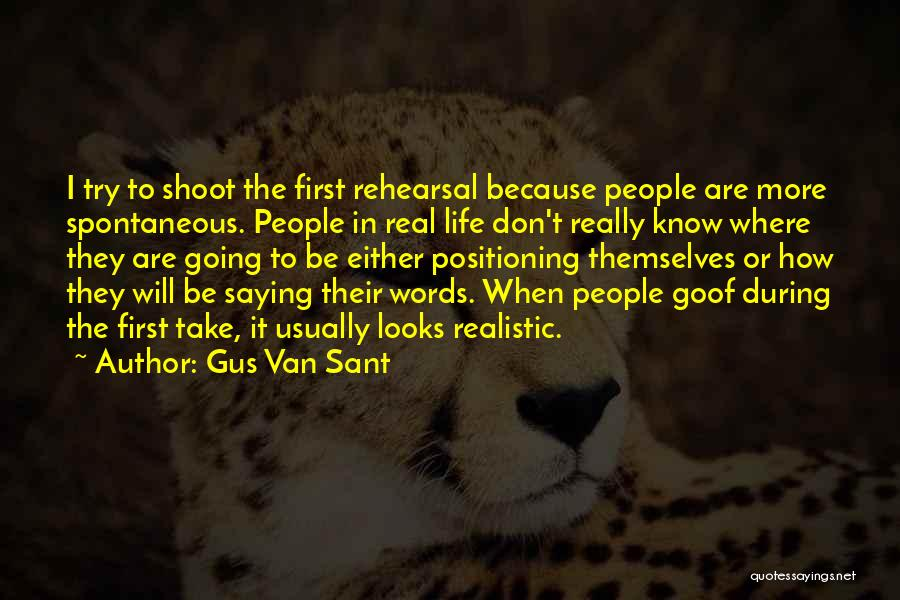 Gus Van Sant Quotes 1912346