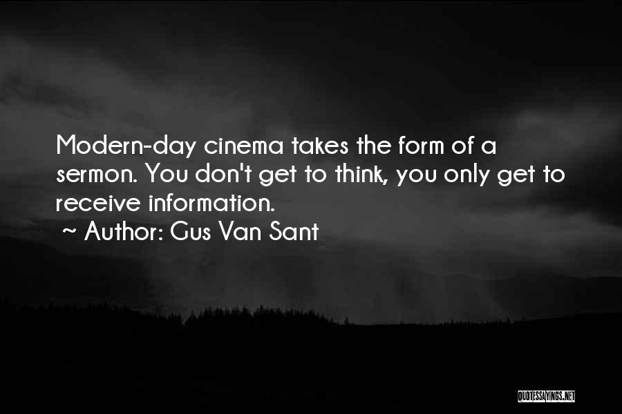Gus Van Sant Quotes 552099