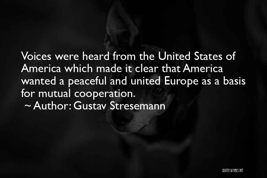 Gustav Stresemann Quotes 1532433