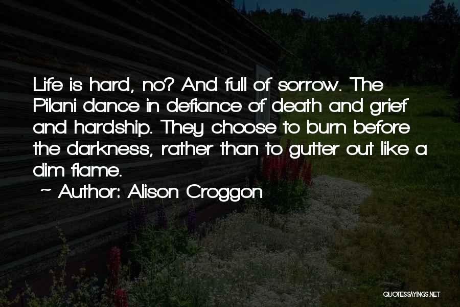 Gutter Quotes By Alison Croggon