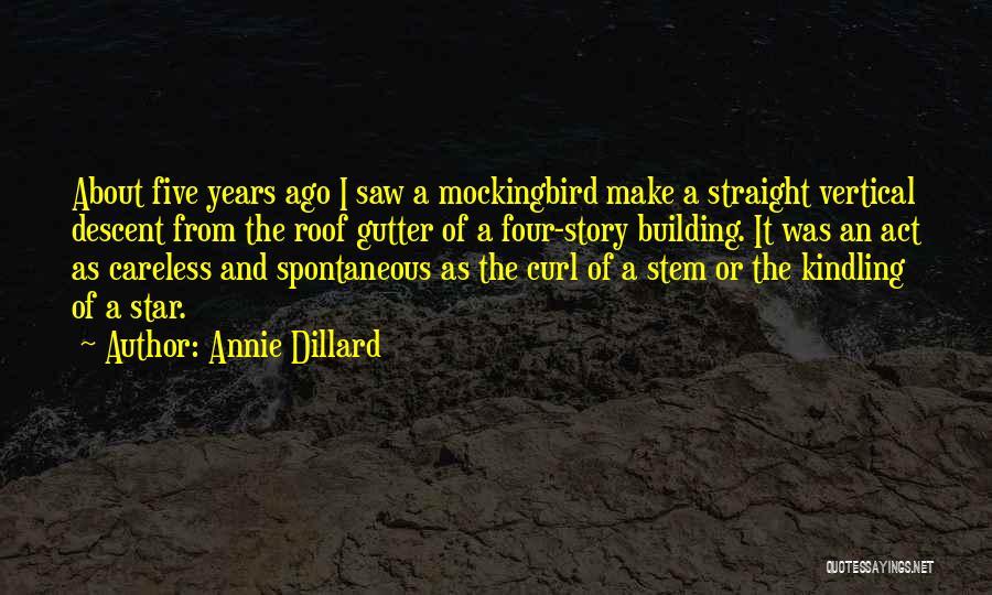 Gutter Quotes By Annie Dillard