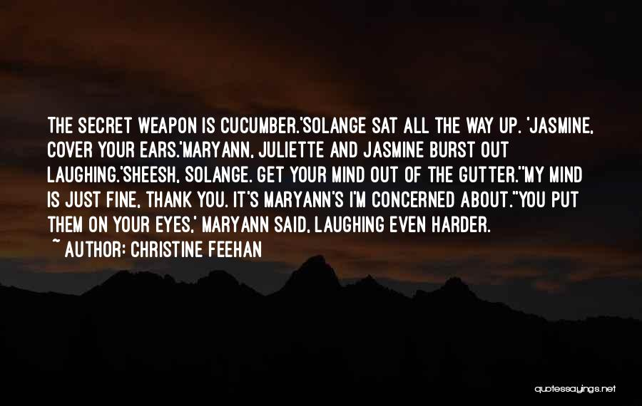 Gutter Quotes By Christine Feehan