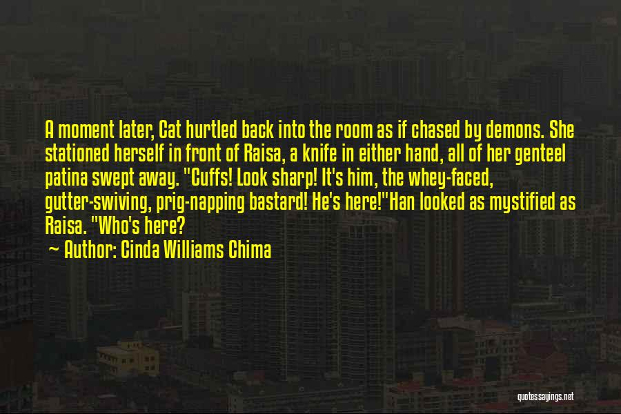 Gutter Quotes By Cinda Williams Chima