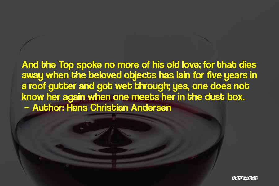 Gutter Quotes By Hans Christian Andersen
