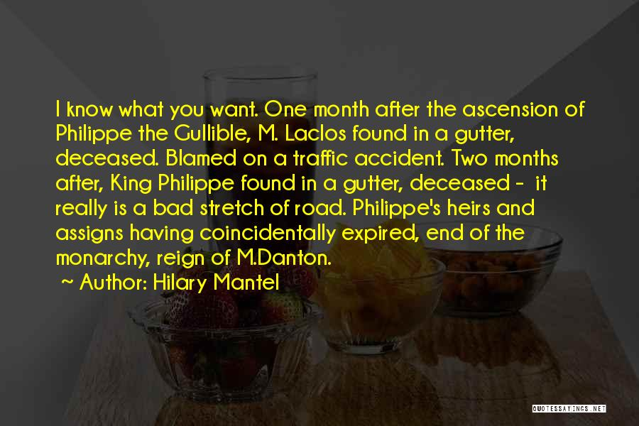 Gutter Quotes By Hilary Mantel