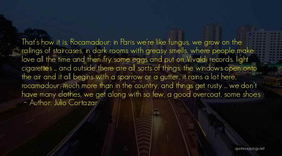 Gutter Quotes By Julio Cortazar