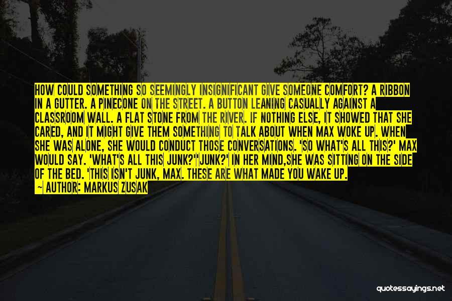 Gutter Quotes By Markus Zusak