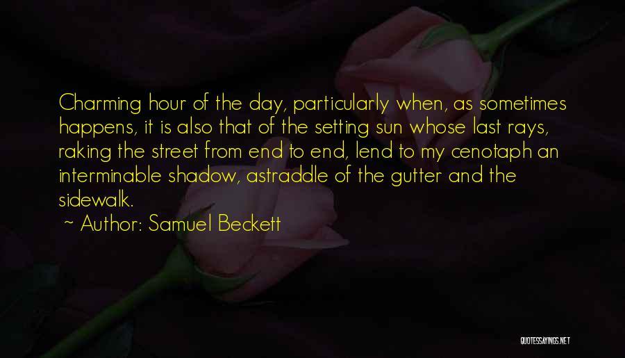 Gutter Quotes By Samuel Beckett