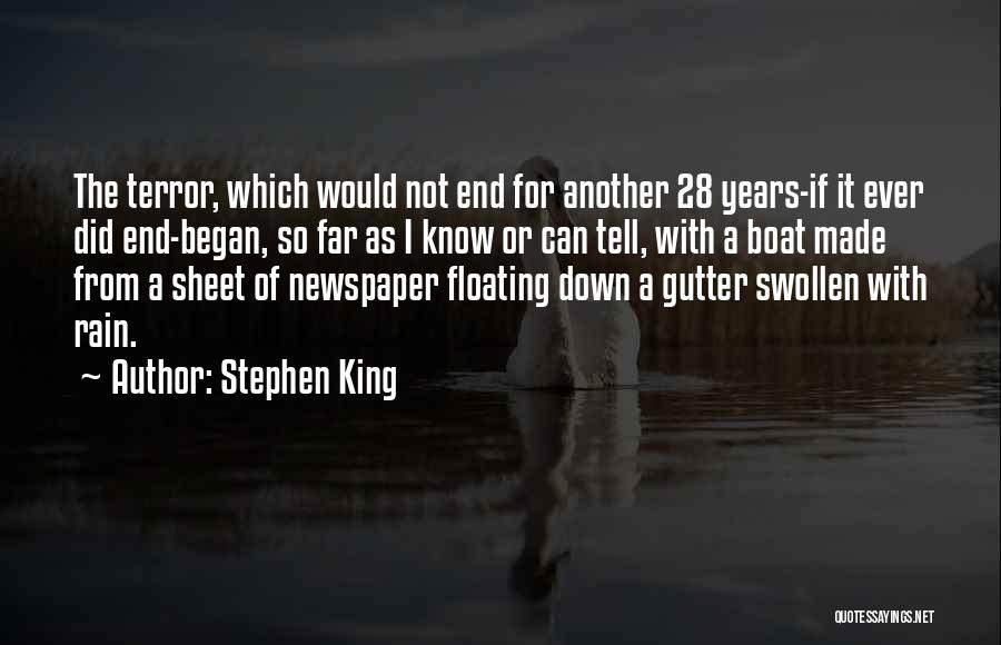 Gutter Quotes By Stephen King