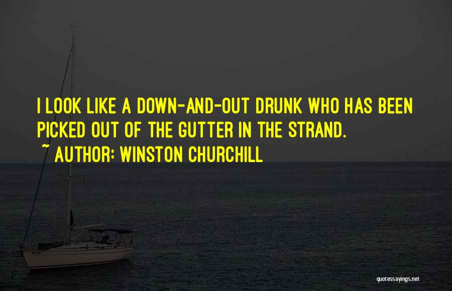 Gutter Quotes By Winston Churchill