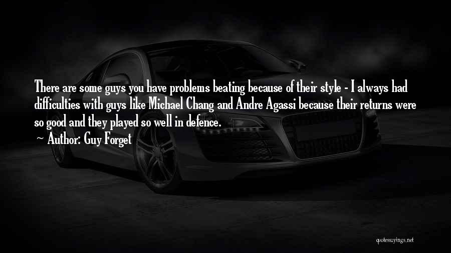 Guy Forget Quotes 1042343