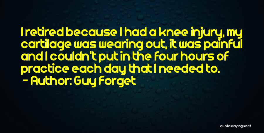 Guy Forget Quotes 1245070