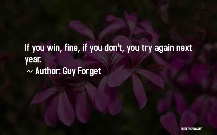 Guy Forget Quotes 1461601