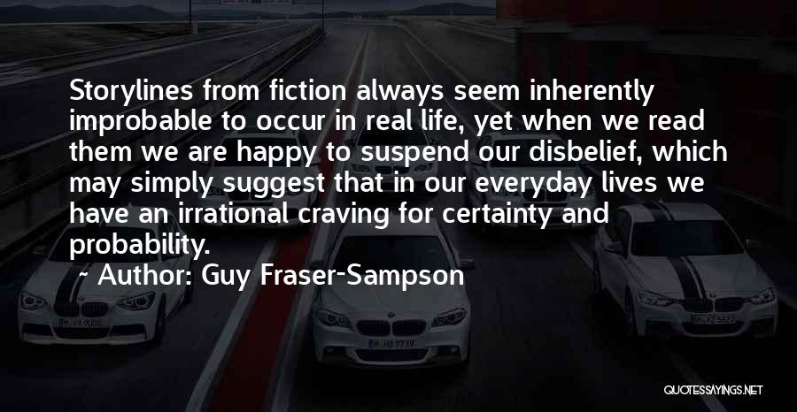 Guy Fraser-Sampson Quotes 2110759