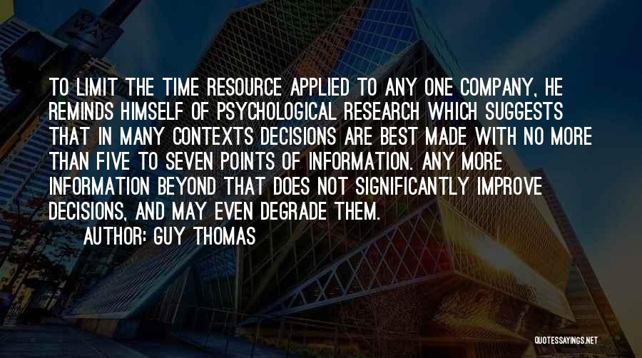 Guy Thomas Quotes 931169