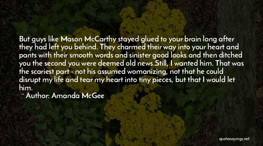 Guys Leading You On Quotes By Amanda McGee