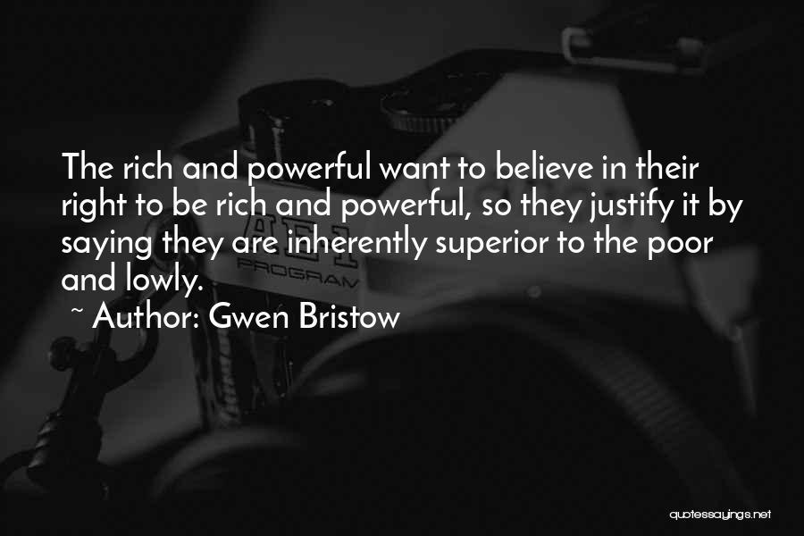 Gwen Bristow Quotes 1806998