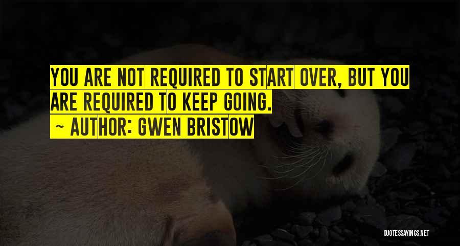 Gwen Bristow Quotes 990329
