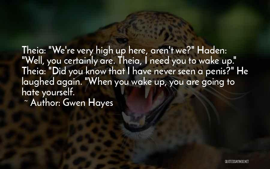 Gwen Hayes Quotes 1175099