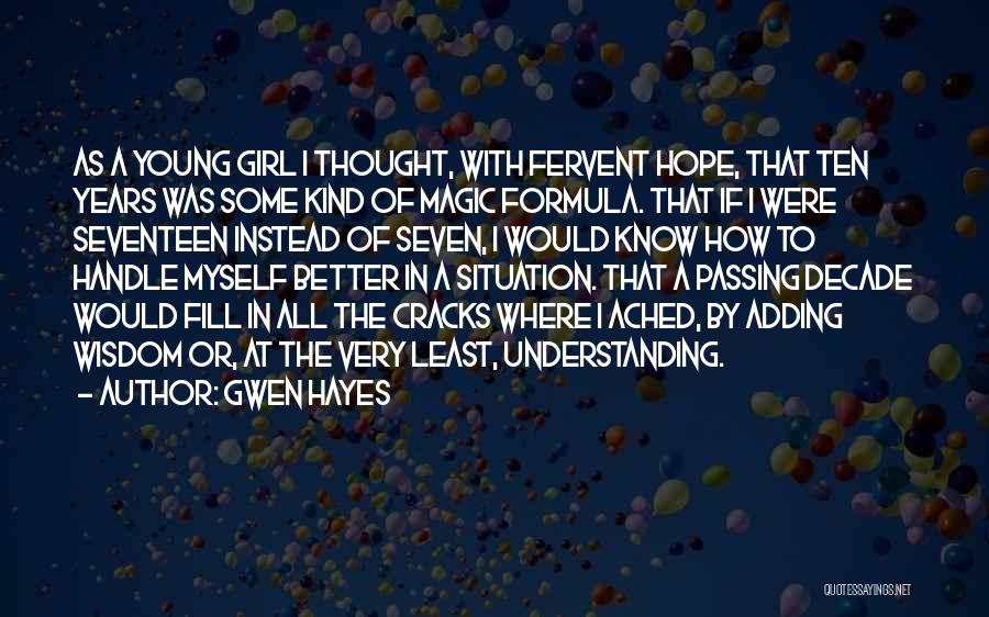 Gwen Hayes Quotes 1317481