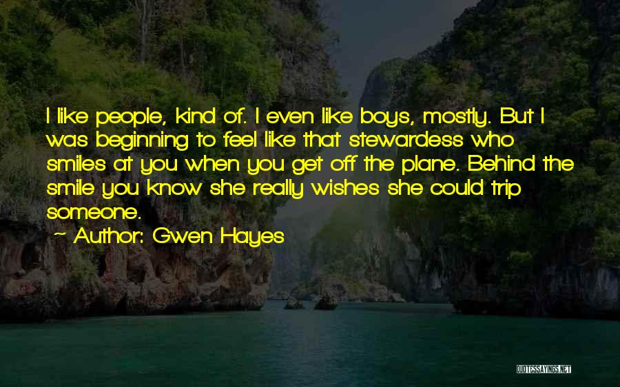 Gwen Hayes Quotes 1390528