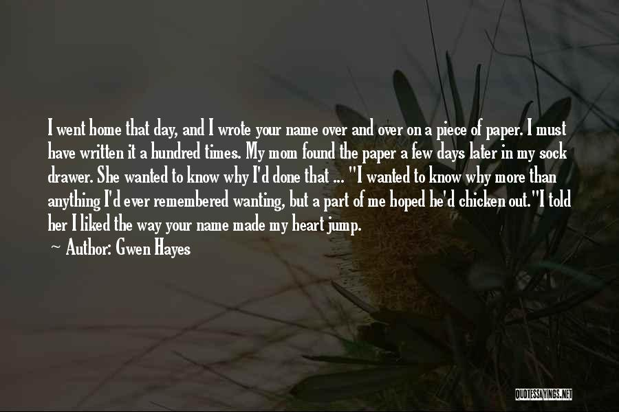 Gwen Hayes Quotes 1511767