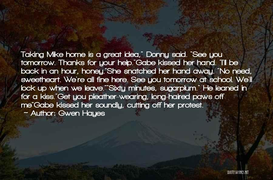Gwen Hayes Quotes 1712299