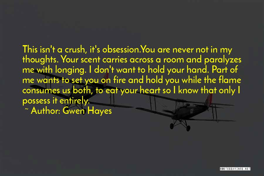 Gwen Hayes Quotes 207096