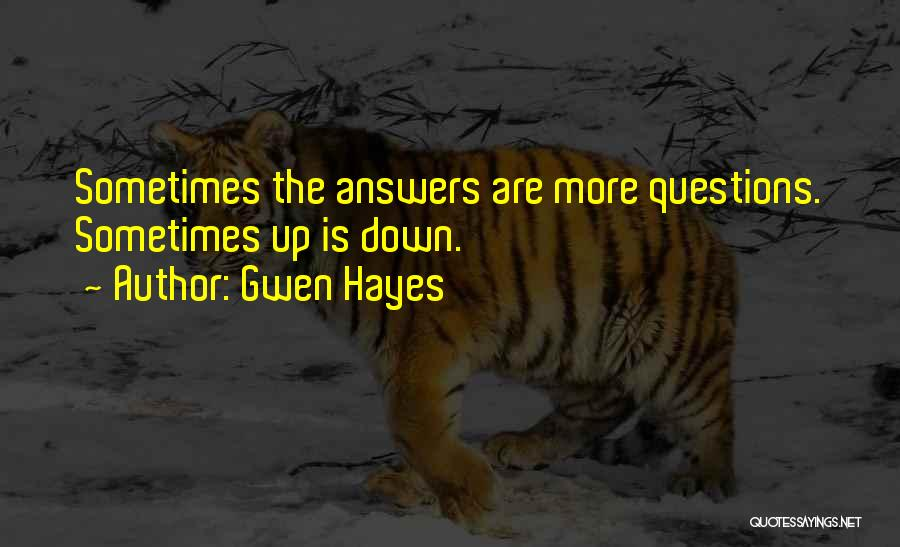 Gwen Hayes Quotes 280986