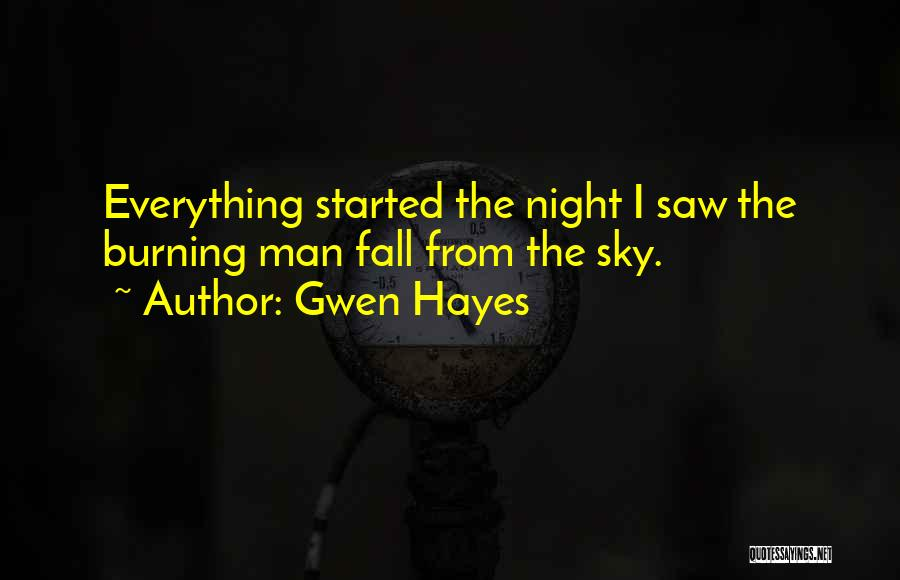 Gwen Hayes Quotes 372222