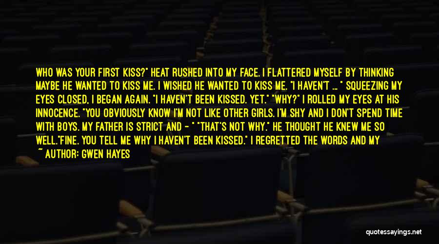 Gwen Hayes Quotes 458672