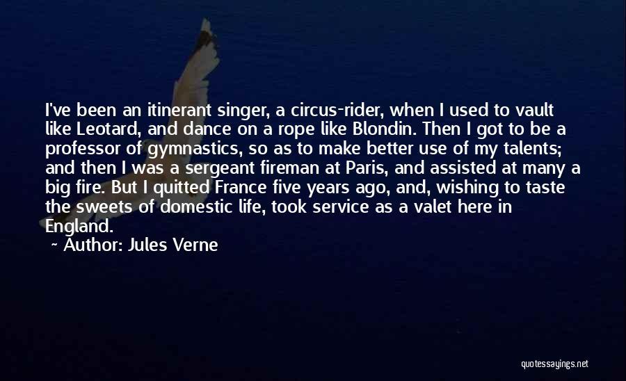 Gymnastics Vault Quotes By Jules Verne